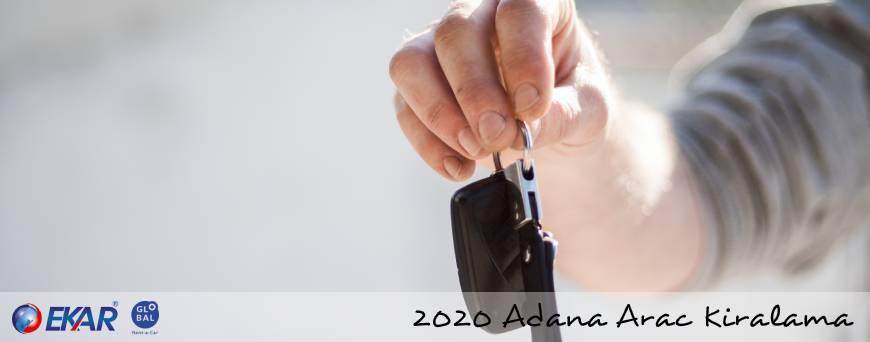 2020 Adana Araç Kiralama Fiyatları