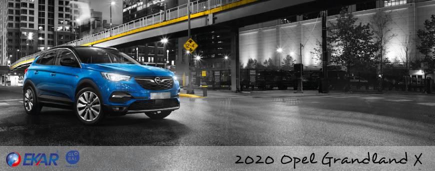 2020 Model Opel Grandland X Özellikleri ve Kiralama Fiyatları