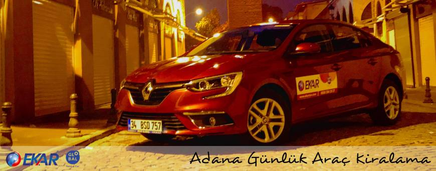 Adana Günlük Araç Kiralama
