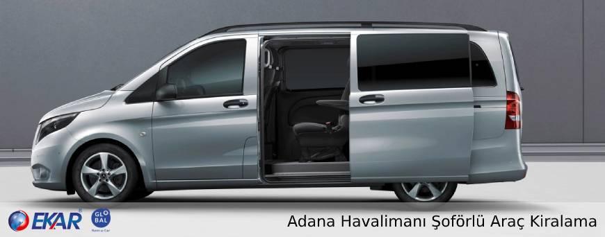 Adana Havalimanı Şoförlü Araç Kiralama