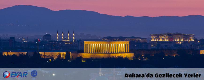 Ankara'da Gezilecek ve Görülecek Yerler - Ankara'da Araç Kirala Gez