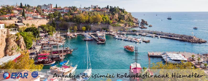 Antalya Seyahatinizde Yanınızda Bulunması Gerekenler, Antalya'da İşimizi Kolaylaştıracak Hizmetler
