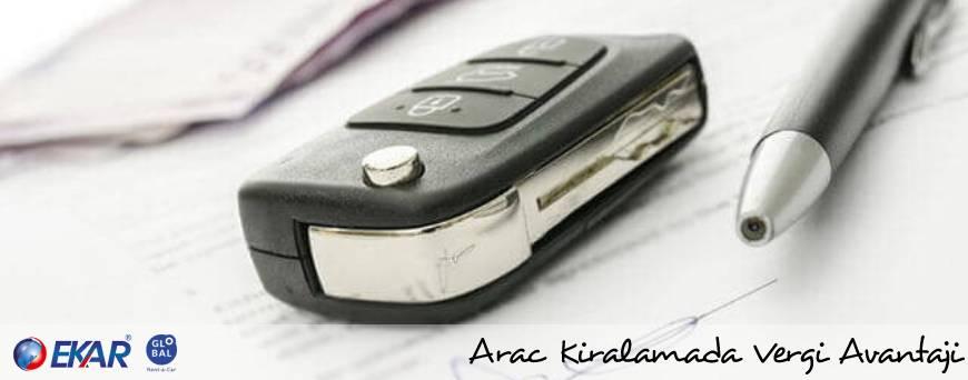 Araç Kiralamada Vergi Avantajları