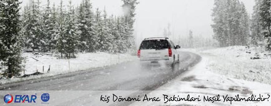 Kış Dönemi Araç Bakımları Nasıl Yapılmalıdır?