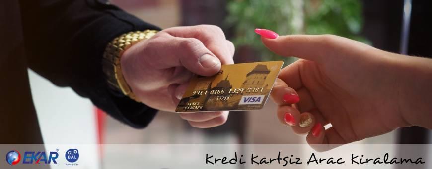 Kredi Kartı Olmadan Araç Kiralama