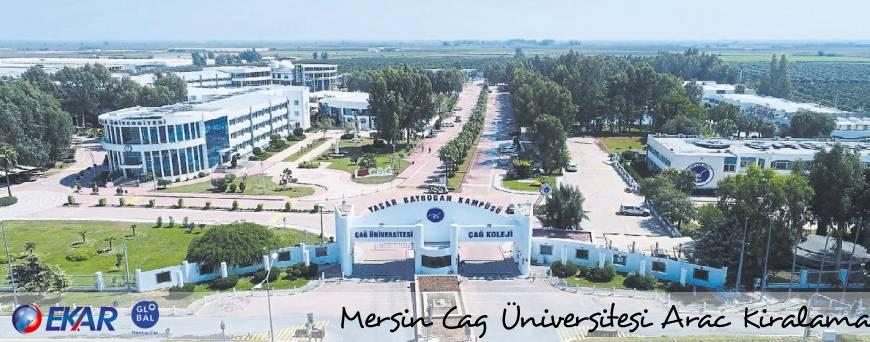 Mersin Çağ Üniversitesi Araç Kiralama