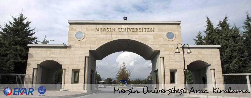 Mersin Üniversitesi Araç Kiralama