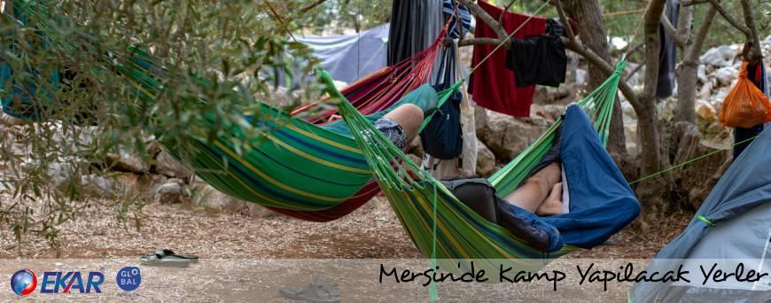 Mersin'de Kamp Yapılacak Yerler