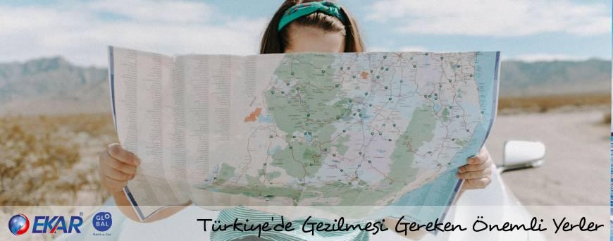 Türkiye'de Gezilmesi Gereken Yerler , Araç Kiralama , Araba ile Seyahat