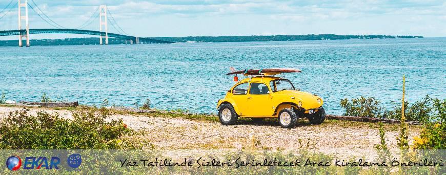 Yaz Tatilinde Sizleri Serinletecek Araç Kiralama Önerileri